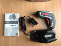 Bosch IXO 3.6V Li-Ion Battery cordless re-chargeable screwdriver £25 (very good condition)