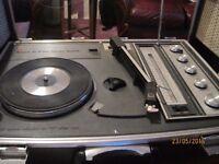 record player /radio 1960's