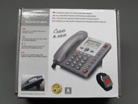 Powertel 97 Phone with Alarm by Amplicomm