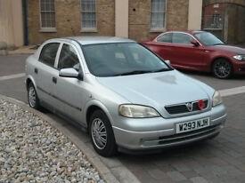 Vauxhall Astra Club Auto Low Milage Petrol 1600cc Silver Hatchback