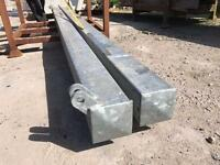 2 X Metal Gate Posts