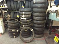 JOB LOT OF MOTORCYCLE TYRES - GREAT PROFIT OPORTUNITY