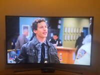 Samsung Curved TV television 4K Ultra HD 48inch UE48JU6740U