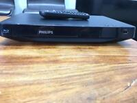 Philips Blu Ray DVD player. Fully working. Great condition.