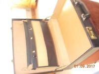 mans briefcase, black