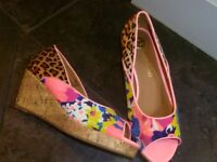 River Island wedges size 3
