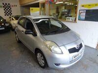 2006 TOYOTA YARIS 1.0 T2, 5DOOR, VERY CLEAN CAR, DRIVES LIKE NEW.