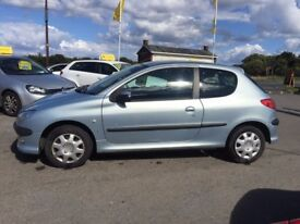 Peugeot 206 1.1 S 3dr PETROL MANUAL