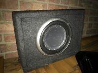Punch sub 450w amp