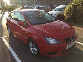 Seat Ibiza Toca 1.4 Red 3 door sport coupe alloy wheels 1 owner