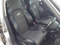 Volkswagen Golf MK4 R32 Interior Konig Half Leather Black Grey