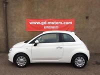 FIAT 500 1.2 POP (2010) 1 YEAR MOT, SERVICE HISTORY, WARRANTY NOT FIESTA IBIZA CORSA AYGO YARIS 107