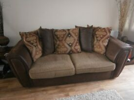 SCS 3 Seater Sofa Scatter Back