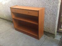 G Plan Style Teak Slim Compact Bookcase
