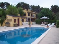 Spain to UK exchange or for sale. Lovely large villa with pool, suit 2 familys,or one large villa.