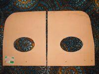 6 x 9 MDF Speaker baffles