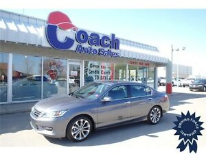 2015 Honda Accord Sedan Sport, Aluminum Alloy Wheels, 31,842 KMs