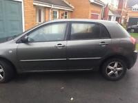 Toyota Corolla 1.4 petrol 02plate LOW MILAGE