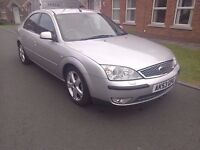 2003 Ford Mondeo Ghia X with 76000 Genuine Warranted Miles