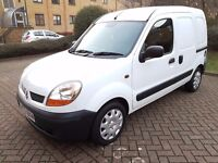 RENAULT KANGOO 1.6 16v PETROL AUTOMATIC, GENUINE LOW MILEAGE 65K, NEW MOT, NEW TYRES, SIDE DOOR.