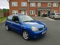 2007 RENAULT CLIO 1.2 16V CAMPUS SPORT not Vauxhall Corsa fiat punto ford fiesta citroen c1 c2 lupo