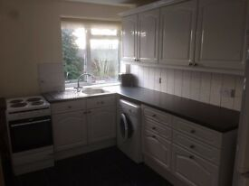 Two bedroomed recently decorated UNFURNISHED flat in ,Lakeside, Cardiff. Available now.