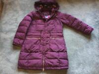 Per una ladies padded coat hoodie full zipper size M/12 used few times good condition £10