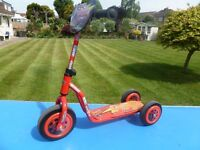LIGHTNING McQUEEN 3 WHEELED SCOOTER...........ONLY £5