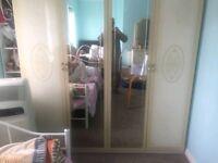 BRAND NEW Twin Mirror Wardrobe for Sale