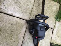 Macullock petrol chainsaw