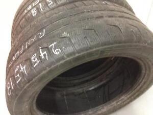 2 Pirelli run flat winter tires:245/45R18