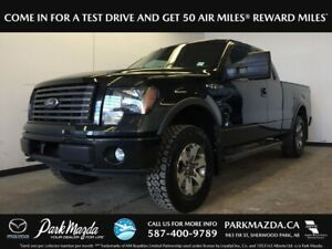 2012 Ford F-150 FX4 4WD - Bluetooth, Painted Box, Tailgate Step