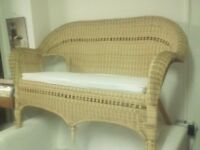 Wicker two seater £20