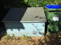 Garden storage box - Free