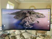 "LG 34UC97 34"" Curved Ultrawide IPS Monitor 3440x1440"