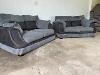 Grey scs 2x2 seater sofas, couches, furniture 🚚WE ARE STILL DELIVERING🚛