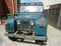 Land Rover Series 2 family owned for over 30 years
