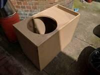 """Custom box for 15"""" Subwoofer"""