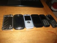 mixed lot of mobile phone some work selling as spare s job lot
