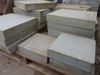 """Reclaimed Smooth Square York stone Slabs Stone 