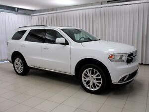 2016 Dodge Durango LOW KM, HIGH TRIM PACKAGE, LOTS OF ADAPTABILI