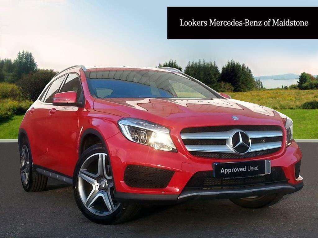 mercedes benz gla class gla 220 d 4matic amg line red 2016 09 28 in maidstone kent gumtree. Black Bedroom Furniture Sets. Home Design Ideas