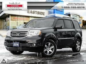2014 Honda Pilot Touring DVD-NAVI-Heated Leather Seats
