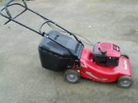 Large mountfield m6 selfpropelled petrol lawnmower