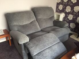 2 seater recliner and 1 Armchair non recliner
