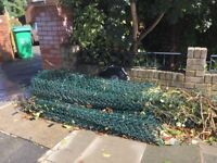 15+ metres green mesh wire fencing for FREE!!