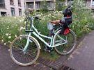 Bike with backseat for Kid + 2 helmets + Lock