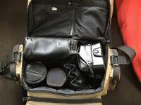 Olympus OM10 SLR film camera