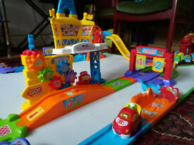 VTech Toot Toot cars and playsets
