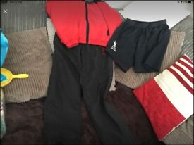 Kid's Liverpool tracksuit and shorts